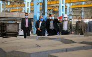 بازدید رئیس کل دادگستری استان کرمانشاه از شرکت تولیدی ایثار