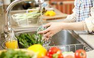 روشی برای ضدعفونی کردن سبزیجات