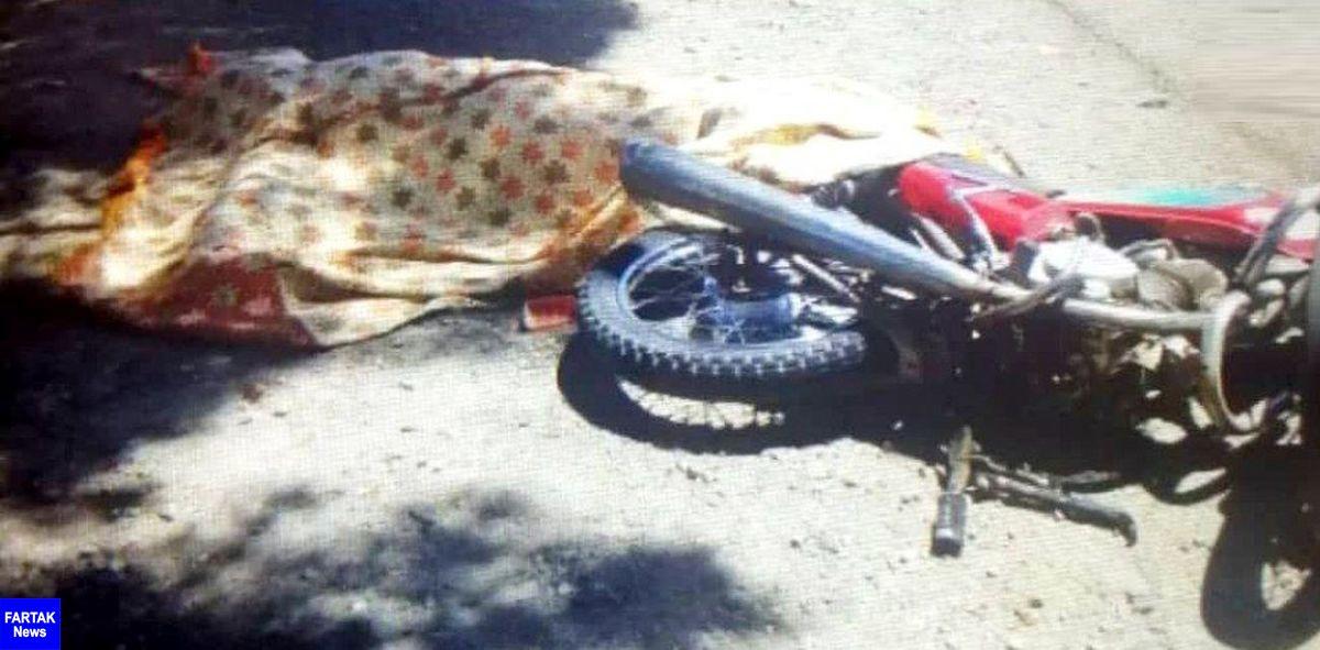 فوت دو جوان نیشابوری در تصادف با موتورسیکلت