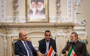 لاریجانی با رئیس جمهور عراق دیدار و گفتگو کرد