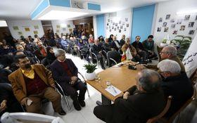 مراسم بزرگداشت احمد بورقانی در انجمن صنفی روزنامهنگاران استان تهران