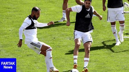 شوخی خطرناک کاپیتان تیم ملی با کاپیتان استقلال +عکس
