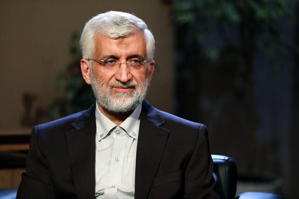 «سعید جلیلی» کاندیدای پوششی نیست و برنامه هایی دارد