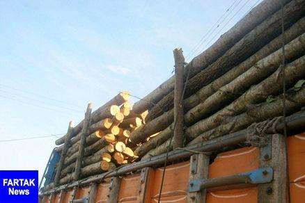 فرمانده انتظامی بهارستان خبر داد؛ کشف ۶ تن چوب جنگلی قاچاق در گلستان