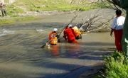 تداوم تلاش برای جستوجوی کودک غرق شده در باراندوز چای ارومیه