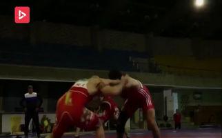 گزارشی از تمرین تیم ملی کشتی ایران + فیلم