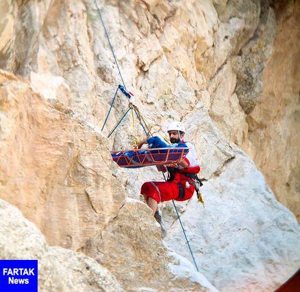 جوان گم شده در ارتفاعات کوه قبله میامی نجات یافت