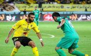 منصوری تنها بازیکن محروم مسابقه استقلال و سپاهان