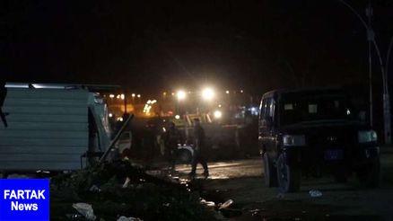 حادثه/انفجار یک خودروی بمبگذاری شده در غرب موصل