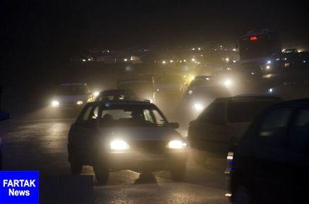 رییس پلیس راه شرق استان تهران خبر داد؛ ترافیک سنگین در محور هراز