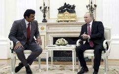 پوتین و امیر قطر دوشنبه با یکدیگر دیدار میکنند