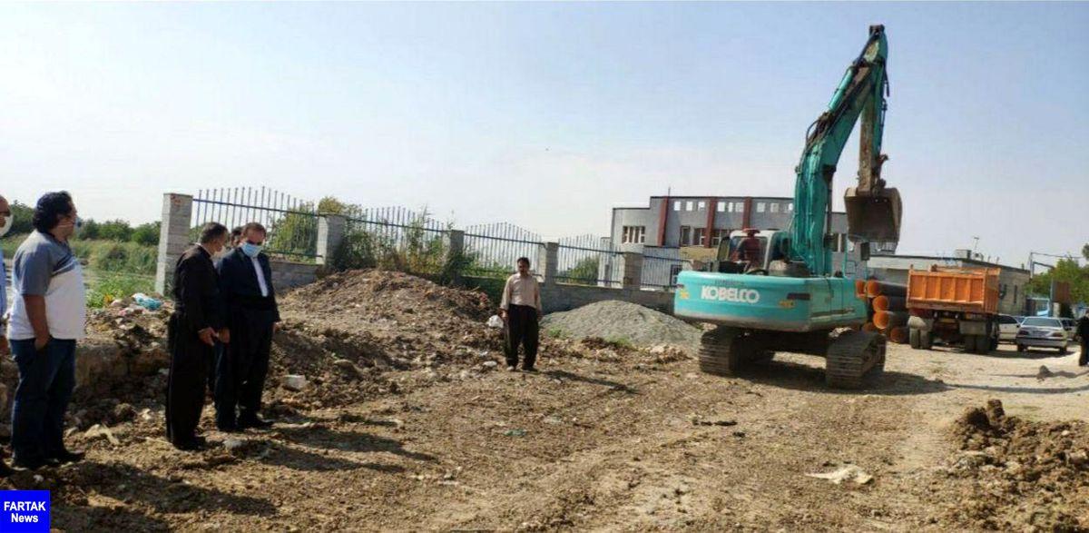 پروژه خط انتقال فاضلاب شهر روانسر به زودی تکمیل می شود