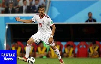 تنها غایب تیم ملی قبل از بازی با کامبوج