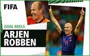 برترین گل های آرین روبن در تاریخ جام جهانی + فیلم