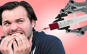رباتی برای پیدا کردن رگ و گرفتن خون + فیلم