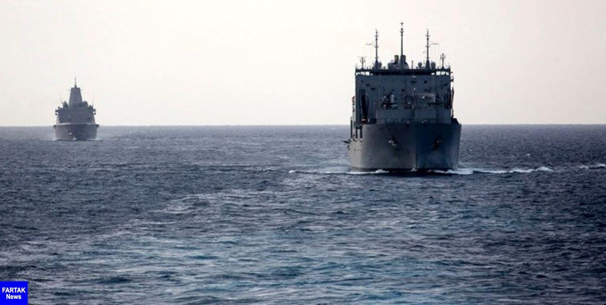 یک فروند کشتی جنگی آمریکا وارد خلیج فارس شد