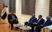 دیدار رییس ستاد اربعین شهرداری تهران با استاندار کربلا