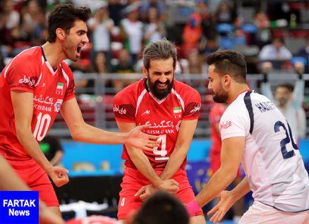 ایران بهترین تیم والیبال در هفته اول لیگ ملت ها شد