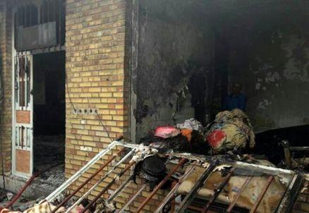 انفجار منزل مسکونی و مرگ زوج میانسال در اصفهان