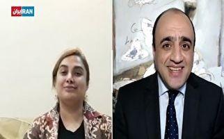 درخواست عجیب کارشناس ایران اینترنشنال از نفر دوم آمدنیوز+فیلم