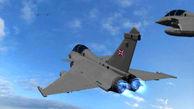 پرواز جنگنده انگلیس بر فراز کشتیهای روسی در مدیترانه