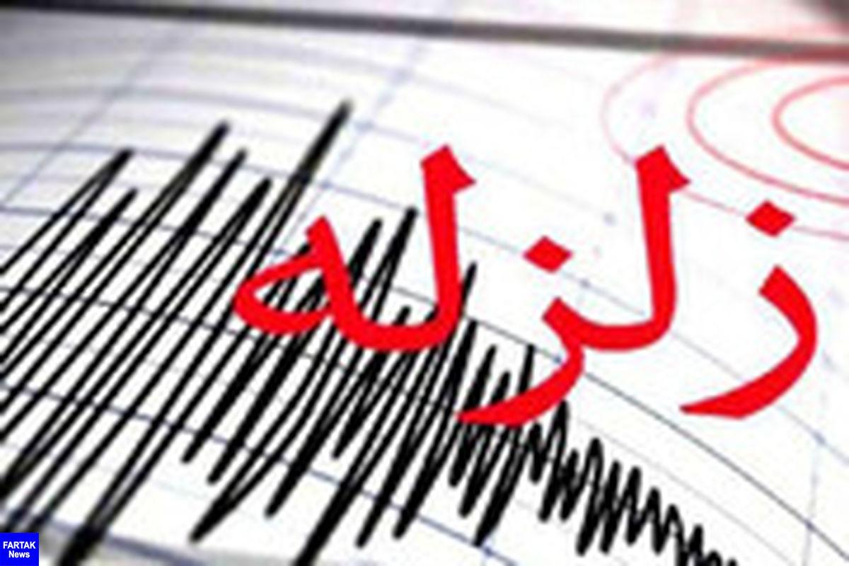 وقوع زلزله در ایلام