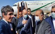 رئیس مجلس در راس هیات پارلمانی وارد سوریه شد