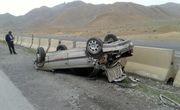 واژگونی خودرو پژو پارس در یاسوج یک کشته و ۲ زخمی در پی داشت