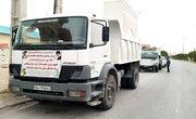 سومین محموله کمکهای مردمی شهرستان دیر به مناطق سیلزده خوزستان ارسال شد