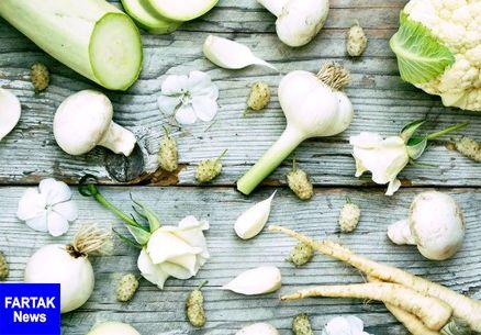 سبزی های کنترل کننده وزن/خوشمزه های سفید رنگ برای لاغری
