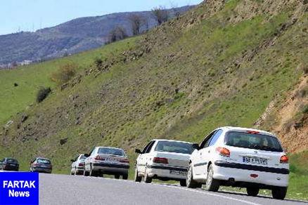ترافیک روان در جادههای کشور / اعلام محورهای مسدود