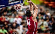 پیروزی تیم بسکتبال  ایران مقابل عراق با حمایت خانوادهها