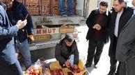 اولین محموله سیب تنظیم بازار شب عید وارد سردخانههای استان شد