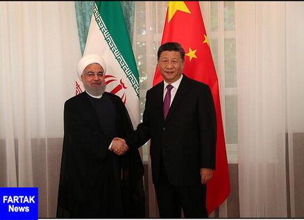 دیدار «روحانی» با رئیسجمهور چین