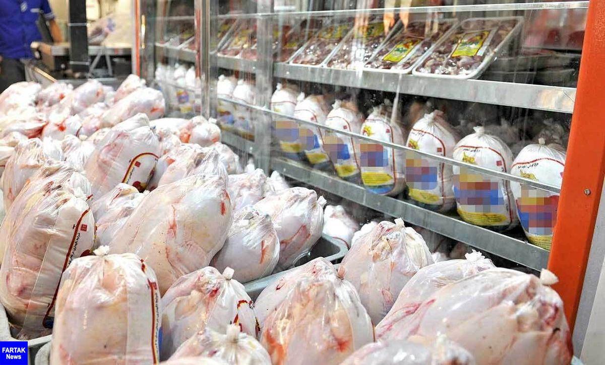 عرضه هفت هزار تن گوشت مرغ در ۱۹ فروردینماه