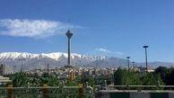 هوای تهران پاک است/ تداوم کاهش دمای هوای پایتخت