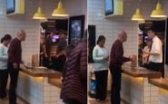واکنش غیرمنتظره مرد گیاهخوار به سرو گوشت در رستوران! +فیلم