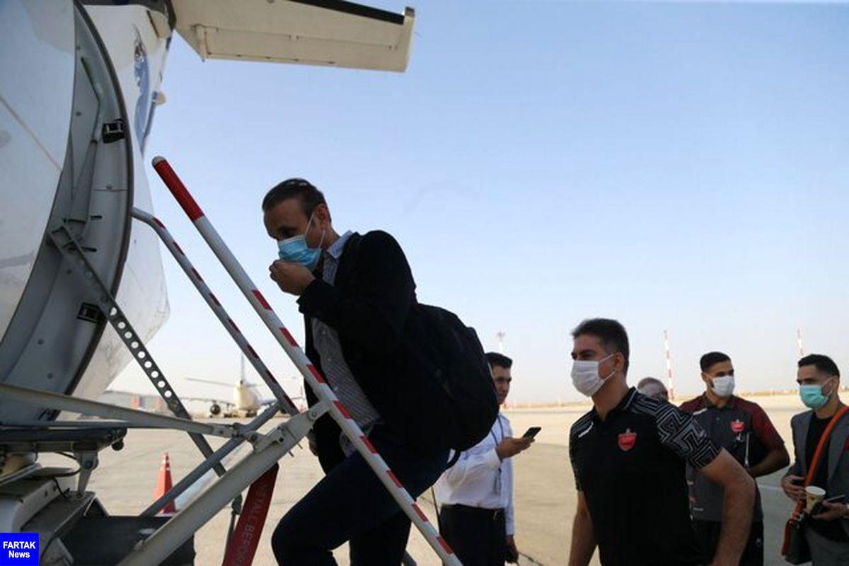 پرسپولیسی ها عازم قطر شدند