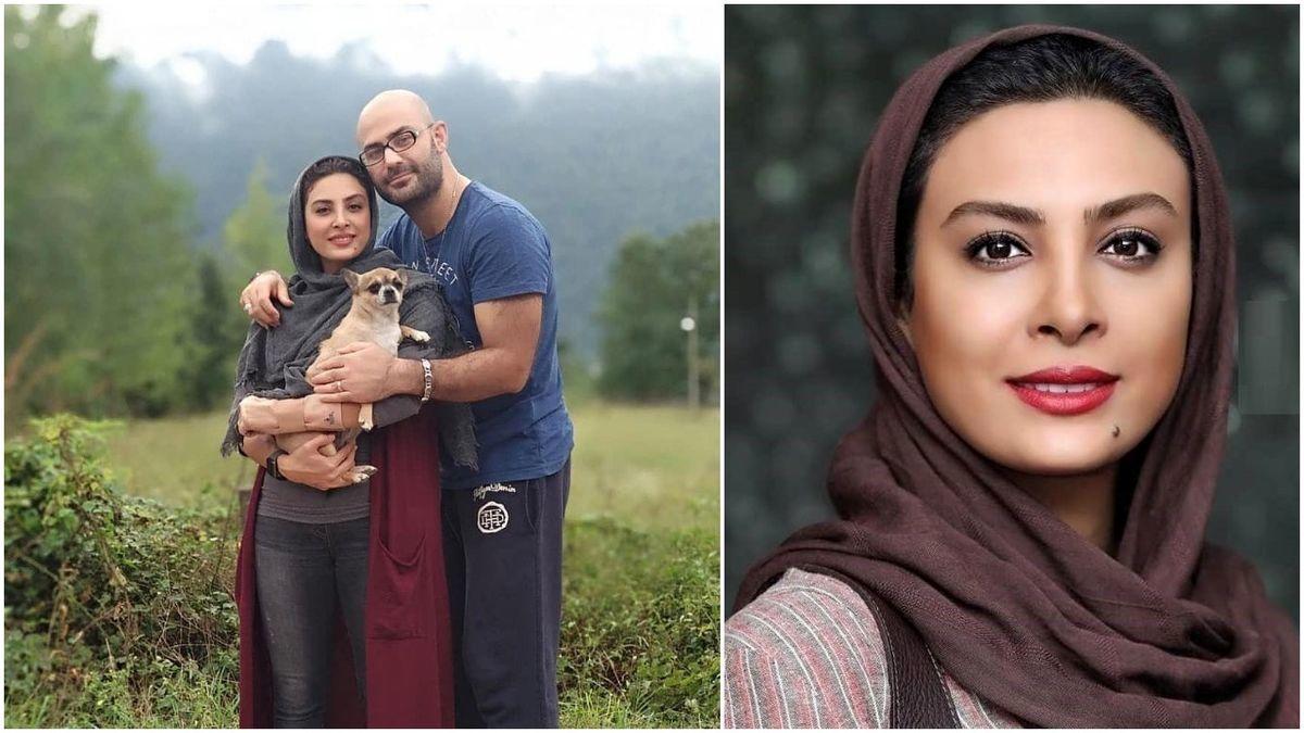 کتک کاری وحشتناک حدیثه تهرانی و همسرش + فیلم لورفته