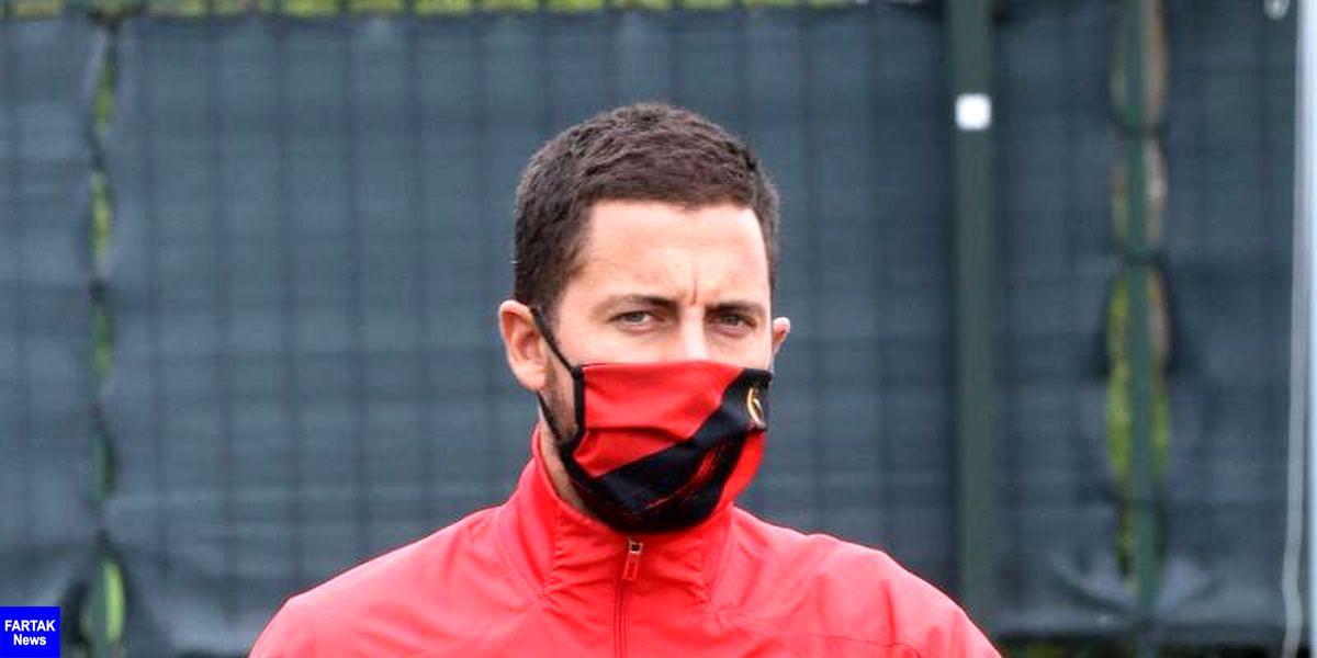 سرمربی تیم ملی بلژیک: هازارد در شرایط بدنی مطلوبی به سر نمی برد