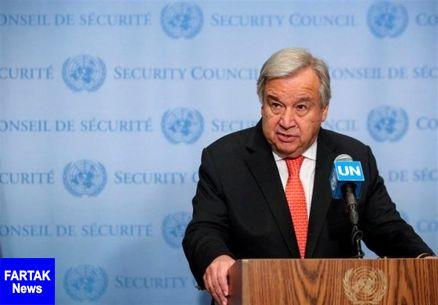 ابراز نگرانی دبیرکل سازمان ملل از تشدید درگیریها در شمال شرق سوریه