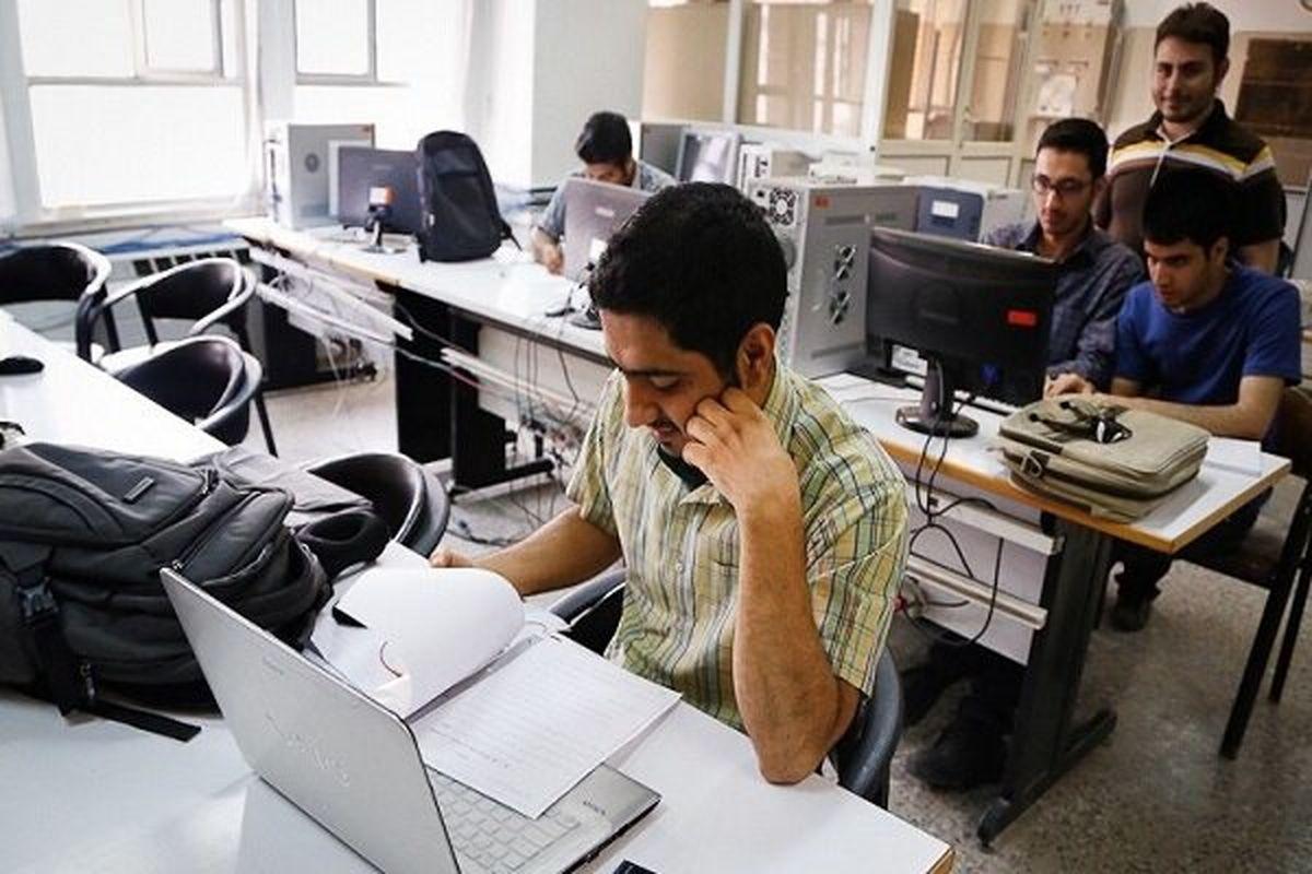جزئیات رتبه بندی دانشگاهها براساس آموزش الکترونیکی