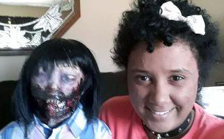 ازدواج عجیب دختر جوان با عروسک زامبی!+فیلم
