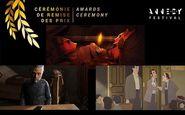 جایزه نخست جشنواره انیمیشن «انسی» به میزبان رسید