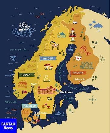 اعزام نیروی کار دانش آموخته دانشگاهی به کشورهای اسکاندیناوی (دانمارک، سوئد، فنلاند و نروژ )