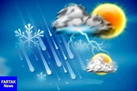 کهگیلویه و بویراحمد بارانی شد/ بارش برف در ارتفاعات