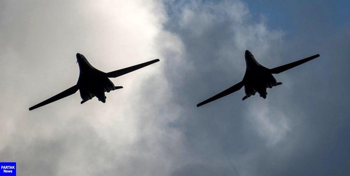 بمب افکنها و هواپیماهای آمریکا، چین و ژاپن نزدیک تایوان پرواز کردند