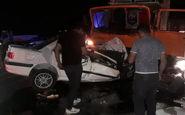 حادثه رانندگی در فسا ۴ کشته و زخمی داشت