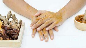 خواص زردچوبه برای پوست