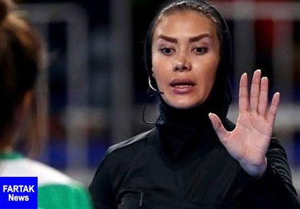 حضور داوران بانوی کشورمان در دیدارهای فینال و ردهبندی جام ملتهای فوتسال اروپا